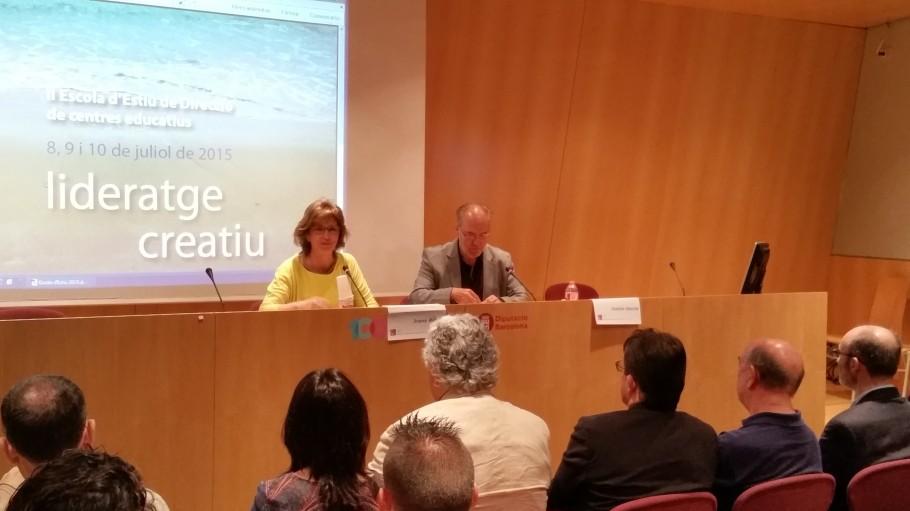 inauguracio II ESCOLA D'ESTIU 2015
